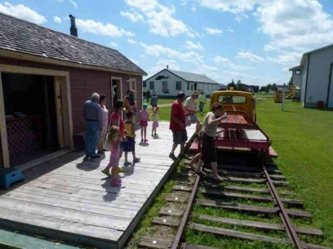 متحف ساسكاتشوان للسكك الحديد