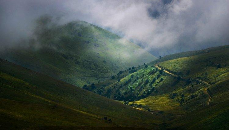 الطبيعة الساحرة في مرتفعات السلطان مراد