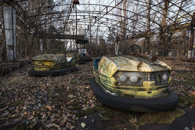 مدينة الاشباح في اوكرانيا