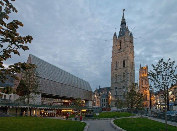 برج الجرس في غنت بلجيكا