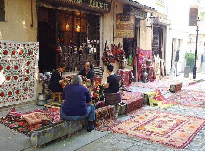 معرض السجاد القوقازي في تبليسي