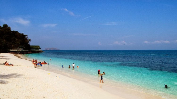 جزيرة بولاو بانكور في ماليزيا