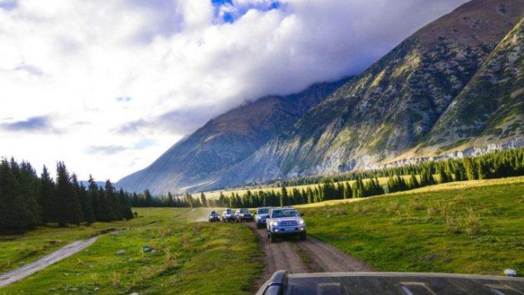 المواصلات في قزغستان
