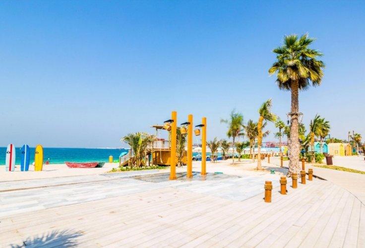 شاطئ لامير في دبي