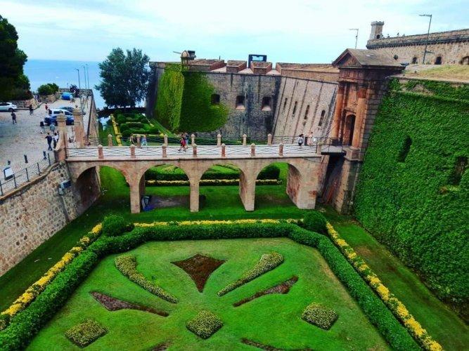حديقة قلعة مونت جويك