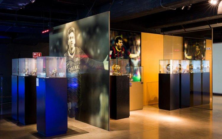 متحف نادي برشلونة لكرة القدم.