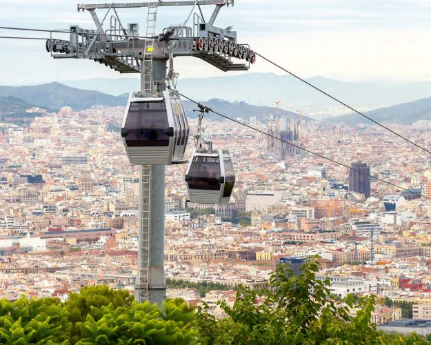 تلفريك برشلونة