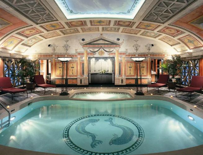 الجناح الرئاسي في فندق برينسيب دي سافويا