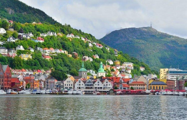 مدينة بيرغن في النرويج