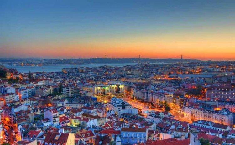 مدينة لشبونة في البرتغال