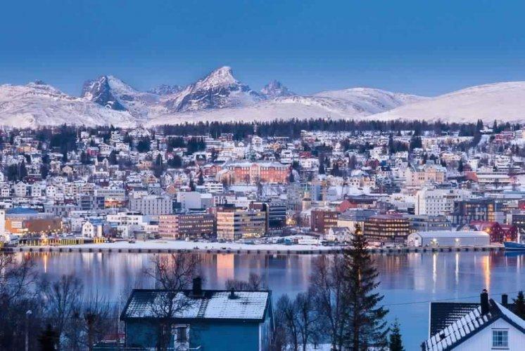 مدينة ترومسو في النرويج