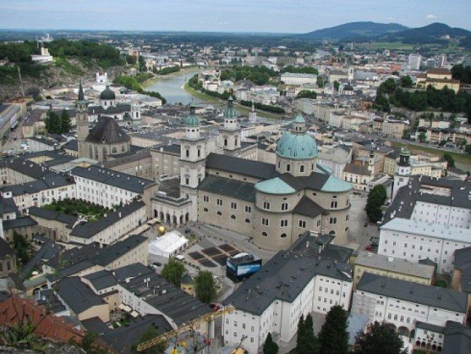لمدينة القديمة في سالزبورغ