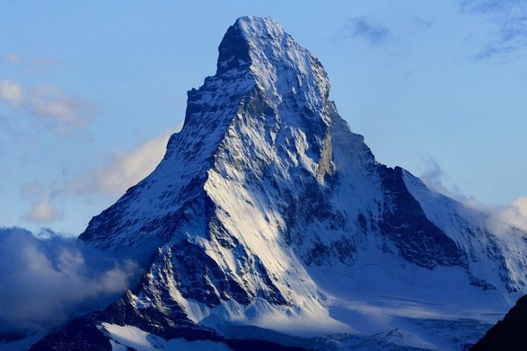جبل ماترهورن في سويسرا