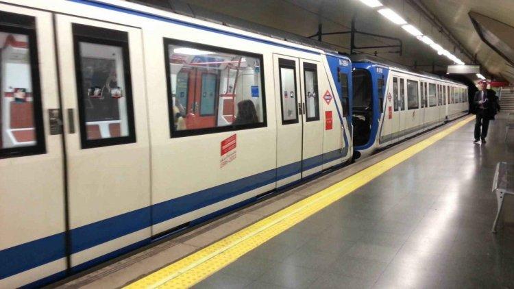 مترو الانفاق في مدريد