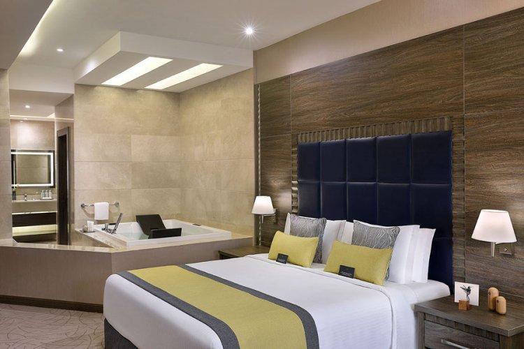 من داخل فندق فوكو بمدينة الخبر
