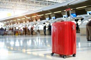 نسيت حقيبة في المطار