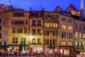 المدينة القديمة في جنيف