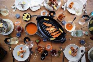 الطعام في شيراتون جراند دبي