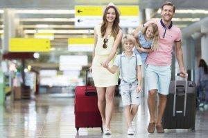 السفر بصحبة أطفال