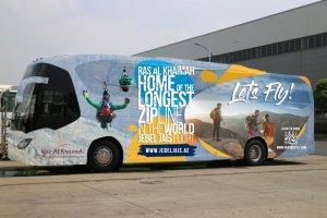 نقل مجاني من مطار دبي الدولي إلى رأس الخيمة