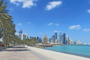 كورنيش الدوحة في قطر