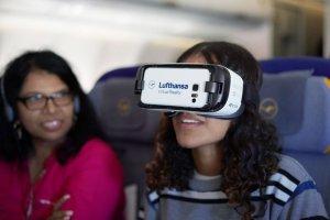 الاستمتاع المسافرين بتقنية الواقع الافتراضي