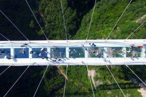صورة علوية لاطول جسر في العالم
