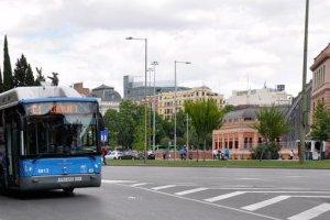 الحافلات في مدريد