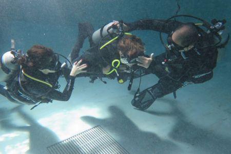 منتجع أتلانتس النخلة يحتضن جلسة تدريبية على الغوص لذوي الاحتياجات الخاصة