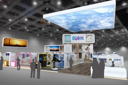 دبي للسياحة في معرض السفر العربي