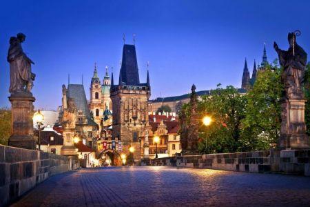 العاصمة التشيكية براغ