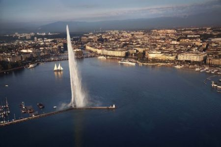 Geneva from the sky