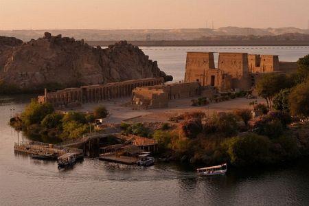 جزيرة فيلة في مصر