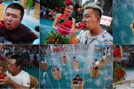 احتفالات عيد النار والجليد في الصين