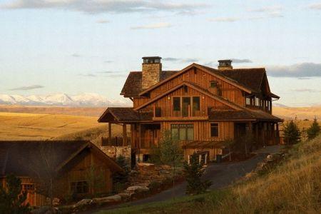 مزرعة The Grey Cliffs في مونتانا