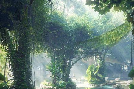 فندق في غابة صناعية