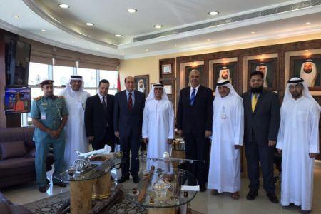 اعلان بدأ رحلات الشحن الجوي لمصر للطيران إلى مطار رأس الخيمة الدولي