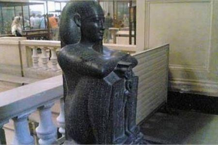 تمثال جد حر في محافظة القليوبية - مصر