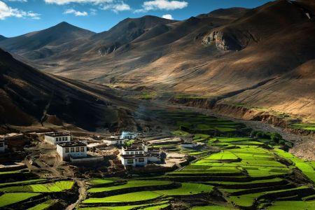 جبال التبت