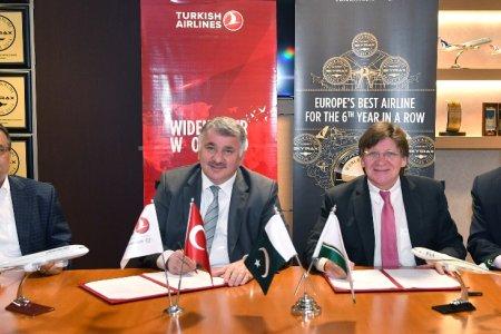 توقيع اتفاقية بين الخطوط التركية والخطوط الباكستانية