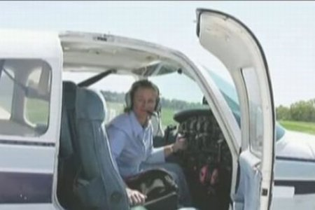 قائدة طائرة