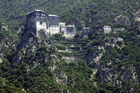 جبل أتوس في اليونان
