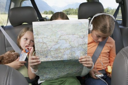 السفر بصحبة الأطفال