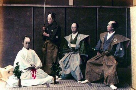 الانتحار قديما كان عملا بطوليا في اليابان