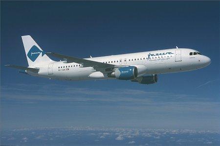 إحدى طائرات شركة طيران الجزيرة