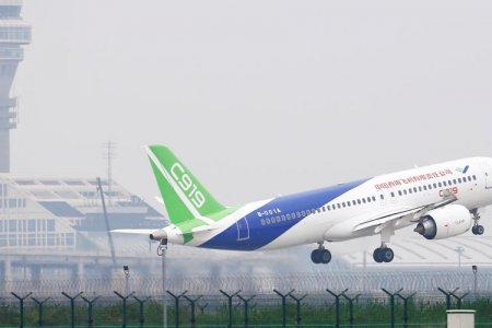 أول طائرة من صنع الصين