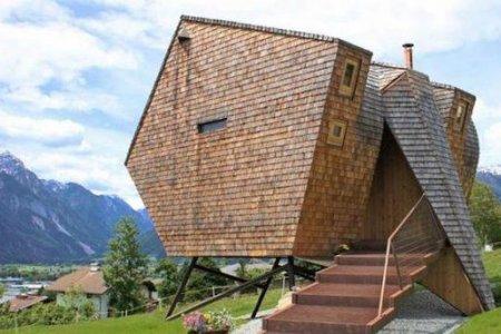 فندق أو فوغيل بالنمسا تصميم غريب وموقع فريد وشكل طائر منقرض