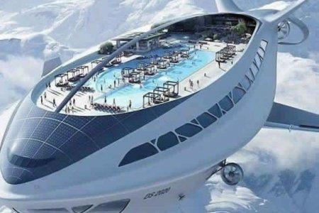 سفينة سياحية طائرة
