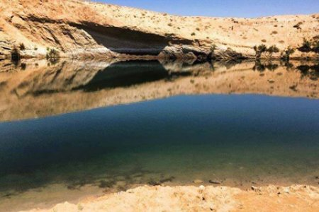 البحيرة العجيبة التي ظهرت مؤخرا في تونس