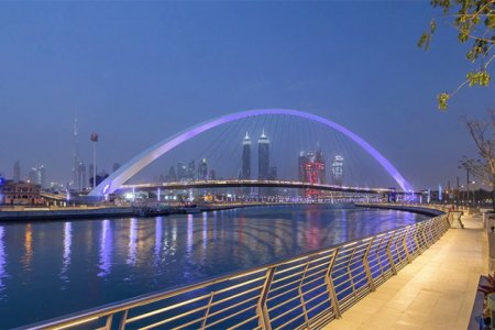 ممشي السيف احد الوجهات سياحية جديدة في دبي من مراس